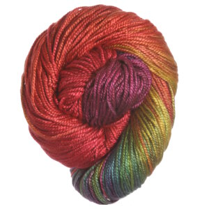 Hand Maiden Sea Three Onesies (100g) Yarn - Bright Rainbow