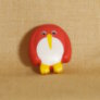 Muench Plastic Buttons - Penguin - Red (15mm)