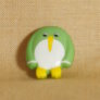 Muench Plastic Buttons - Penguin - Lime (15mm)