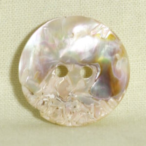 Muench Shell Buttons - Abalone Eyelet (27mm)