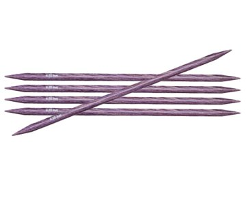 "Knitter's Pride Dreamz Double Point Needles - US 10.5 - 6"" (6.5mm) Purple Passion Needles"