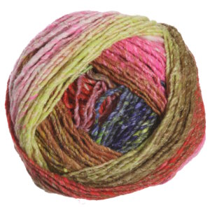 Noro Obi Yarn - 13 Lime, Pink, Caramel, Red