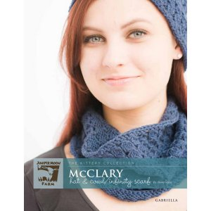 Juniper Moon Farm The Kittery Collection Patterns - McClary Hat & Cowl/Infinity Scarf Pattern