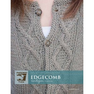 Juniper Moon Farm The Kittery Collection Patterns - Edgecomb Cardigan Pattern