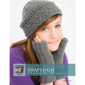 Juniper Moon Farm The Kittery Collection Patterns - Shapleigh Hat & Fingerless Mitts Pattern