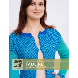 Juniper Moon Farm The Pondicherry Collection Patterns - J'adore Quilted Knit Jacket Pattern