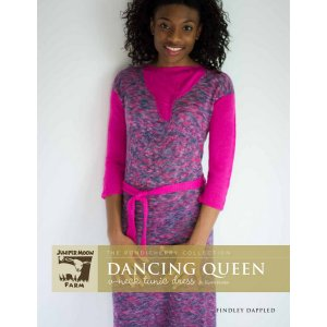 Juniper Moon Farm The Pondicherry Collection Patterns - Dancing Queen V-Neck Tunic Dress Pattern