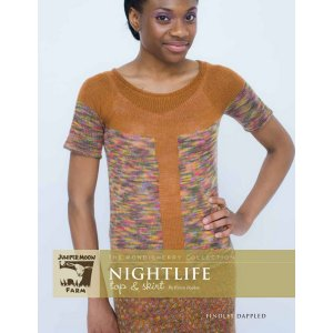 Juniper Moon Farm The Pondicherry Collection Patterns - Nightlife Top & Skirt Pattern