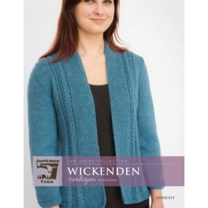 Juniper Moon Farm The Dales Collection Patterns - Wickenden Cardigan Pattern