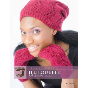 Juniper Moon Farm The Dales Collection Patterns - Illilouette Hat & Mitts Pattern