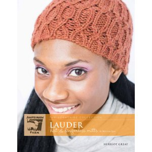 Juniper Moon Farm The Yorkshire Collection Patterns - Lauder Hat & Fingerless Mitts Pattern