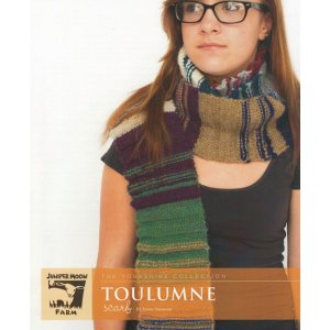 Juniper Moon Farm The Yorkshire Collection Patterns - Toulumne Scarf Pattern