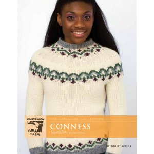 Juniper Moon Farm The Yorkshire Collection Patterns - Conness Sweater Pattern