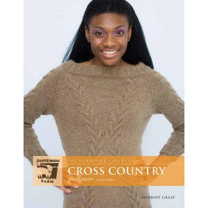 Juniper Moon Farm The Yorkshire Collection Patterns - Cross Country Pullover Pattern