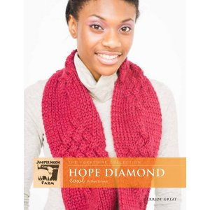 Juniper Moon Farm The Yorkshire Collection Patterns - Hope Diamond Cowl Pattern