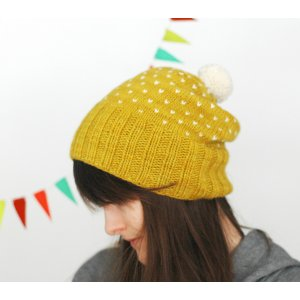 Dull Roar Patterns - A Most Bespeckled Hat Pattern