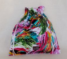 della Q Eden Cotton Project Bag (115-2) - 156 Finger Paint