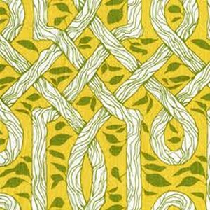 Joel Dewberry Deer Valley Fabric - Vinework - Goldenrod