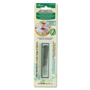 Clover Felting Needle Tool - Felting Needle Refill - Fine Weight