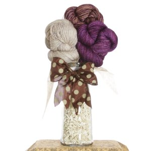 Jimmy Beans Wool Yarn Bouquets - Madelinetosh Tosh Merino Light Bouquet- Smokey Orchid