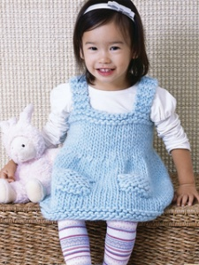 Blue Sky Alpacas Bulky Baby Jumper Kit - Baby and Kids Pullovers