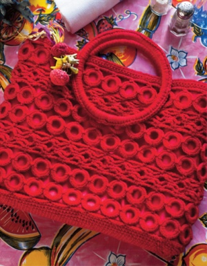 Lorna's Laces Shepherd Sock Diamond Lace Bag Kit - Crochet for Adults