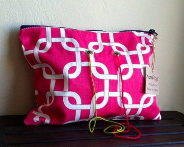Top Shelf Totes Yarn Pop - Double - Pink Interlock