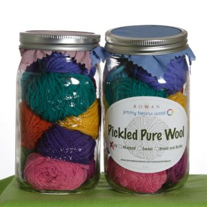 Rowan Pure Wool Worsted Pickle Samplers - Dill Pickles - Brights