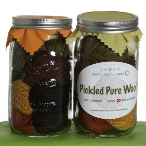 Rowan Pure Wool Worsted Pickle Samplers - Bread & Butter Pickles - Neutrals