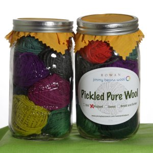 Rowan Pure Wool Worsted Pickle Samplers - Mustard Pickles - Jewel Tones