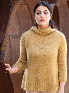 Berroco Cirrus Clement Pullover Kit - Women's Pullovers
