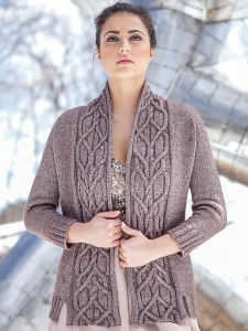 Berroco Elements Merle Cardigan Kit - Women's Cardigans