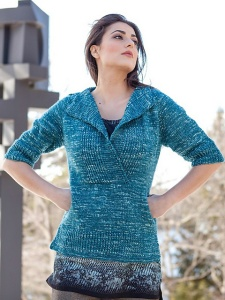 Berroco Abode Pohl Pullover Kit - Women's Pullovers
