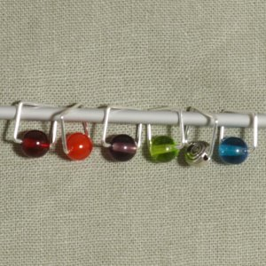 Spark Exclusive JBW Stitch Markers - Spot On - Jimmy Beans Wool
