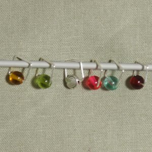 Spark Exclusive JBW Stitch Markers - Color Spots Exclusive - Technicolor Dreamcoat
