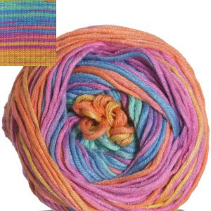 Schachenmayr original Cotton Bamboo Batik Yarn - 080 Rainbow