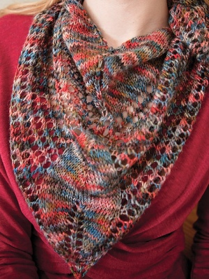 Berroco Boboli Lace Bleddyn Shawl Kit - Scarf and Shawls