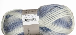 Nashua Wooly Stripes Yarn - 09 - Faded Blues