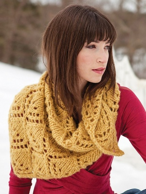 Berroco Kodiak Aude Shawl Kit - Scarf and Shawls