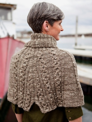 Berroco Abode Erman Capelet Kit - Scarf and Shawls