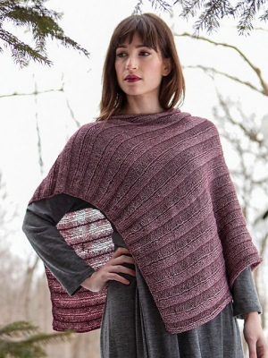 Berroco Elements Zilpa Poncho Kit - Women's Accessories