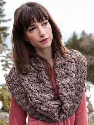 Berroco Elements Tanna Cowl Kit - Scarf and Shawls