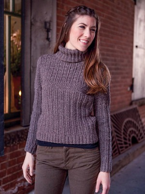 Berroco Remix Gertie Pullover Kit - Women's Pullovers