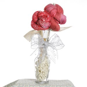 Jimmy Beans Wool Yarn Bouquets - TSC Artyarns Bedazzle Empress Bouquet- Poppy Field