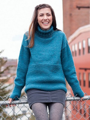 Berroco Vintage Chunky Gwyn Pullover Kit - Women's Pullovers