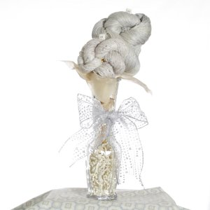 Jimmy Beans Wool Yarn Bouquets - TSC Artyarns Bedazzle Empress Bouquet- Silver City