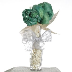 Jimmy Beans Wool Koigu Yarn Bouquets - TSC Artyarns Bedazzle Empress Bouquet-Rainforest
