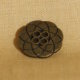 Muench Metal Buttons - Atomic Flower (Brass) - Large