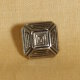 Muench Metal Buttons - Truncated Pyramid - Large