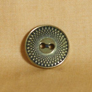Muench Metal Buttons - Spirograph - Gold